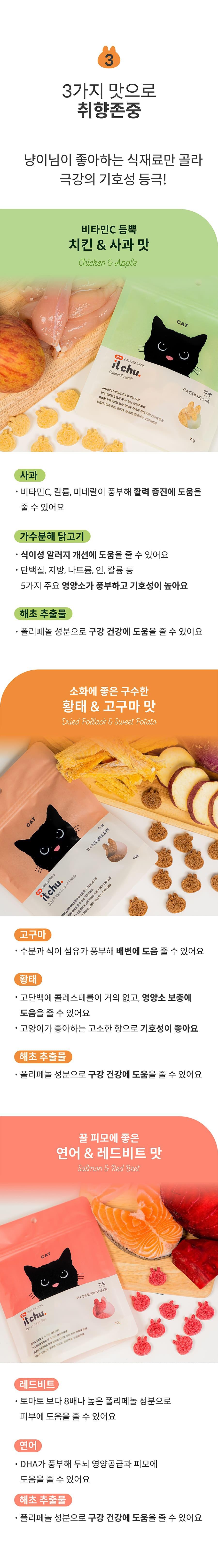 it 더 잇츄 캣 (치킨&사과/황태&고구마/연어&레드비트)-상품이미지-13